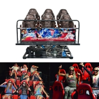 Quality 2020 Indoor Amusement Park Business Electrical 5D 7D Cinemas Motion Chair With Flame Special Effects for sale