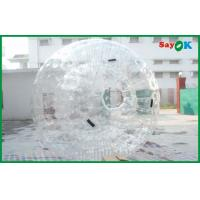 Quality Kids Inflatable Sports Games Giant Transparent Zorb Ball Rental for sale