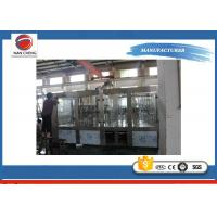 Quality High Speed 3 In 1 Auto Water Filling Machine Stainless Steel 4.6KW 6000BPH for sale