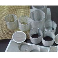 Quality Plain Weave Discs Stainless Steel Filter Mesh For Pharmacy / Chemical Fibers for sale