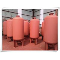Quality ASME Standard Diaphragm Water Pressure Tank Vessel For Water Pump System for sale