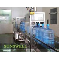 Quality Automatic Still water 3 gallon or 5 Gallon Water Filling Machine / Filler Line 3 in 1 for sale