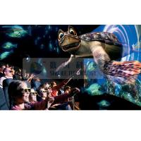 Quality Realistic 6D Cinema Simulator With Cinema Special Effects And Curved Screen for sale