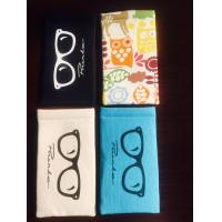 Quality Custom Handmade Soft Glasses Case , Reading Glasses Soft Case Candy Colors for sale