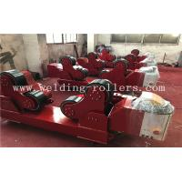 Buy cheap 40Ton PU Self - Aligning  Tank Turning Rolls Wind Tower Welding Rollers from wholesalers