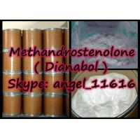 Quality Natural Methandrostenolone Oral Anabolic Steroids Dianabol Powder For Bodybuilding for sale