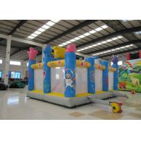 Buy Amusement Park Kids Inflatable Bounce House Digital Printing Fireproof Material at wholesale prices