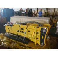 Buy 300-450 Bpm Hydraulic Demolition Hammer Excavator Attachments Fit Lovol FR360 at wholesale prices