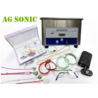 Quality 35W 42KHz Mini Gem Ultrasonic Jewelry Cleaner For Bracelets And Watches for sale