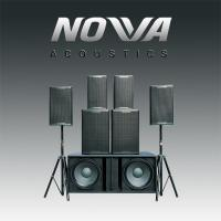 China High Power 15 Inch Full Range PA Speakers Lightweight For KTV Sound Reinforcement on sale