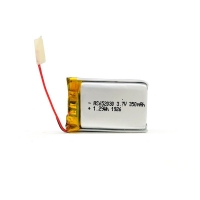 Quality 350mAh 3.7 V Lithium Polymer Battery CV Charge KPL652030 for sale
