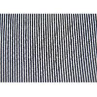 Quality Beautiful Cotton Blended Fabric / Yarn Dyed Stripe Fabric Shrink - Resistant for sale