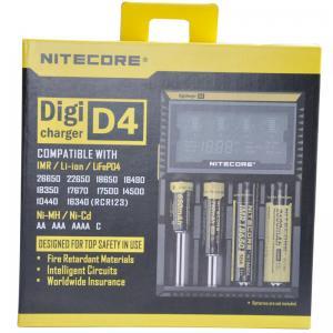 China Nitecore D4  flashlight battery charger, EU/US Plug Intelligent Battery Charger on sale