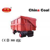 Single-side Curved Rail Dumping Mine Car High Stress Area Welds Eliminated Mass and Section
