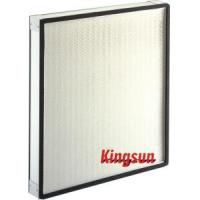 China Mini-Pleat HEPA Filters for Pharmaceutical Processing on sale
