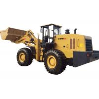 Buy 6 Tons Articulated Wheel Loader Equipment For Steel Mill / Cargo Handling at wholesale prices