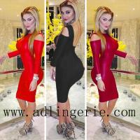 Buy cheap 3-colors Backless Vintage Dress Spring 2014 Women Bodycon Celebrirty Cut Out Open Back Mesh Bandage from wholesalers