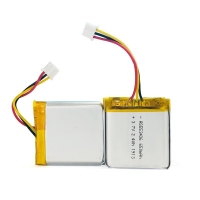 Quality 1C Rate 650mAh 3.7 V Lithium Battery Pack For Portable Source for sale