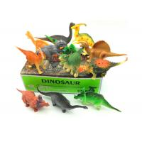Quality Electrostatic Plastic Jurassic Dinosaur Toys , 12 Model Big Dinosaur Toys for sale