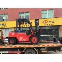 China Hydraulic Transmission Forklift Diesel3000kg Rated Capacity Forklift Truck on sale