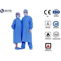 Quality Sterile Chemotherapy Disposable Hospital Scrubs Gowns  S-5XL Customized Size for sale