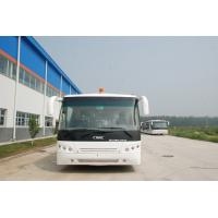 Low Carbon Alloy Steel Body Airport Transfer Coach , Right / Left Hand Drive Bus Apron Bus
