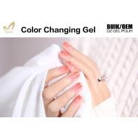 Quality Perfect Match Mood Changing Gel Nail Polish For Salon No Yellowish for sale