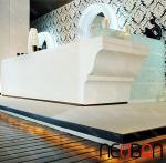 Quality Elegant modern office furniture/Hot Sale Reception Desk/restaurant reception desk for sale