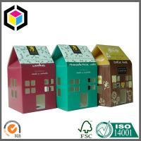 Quality Gable Top Custom Color Print Paper Packaging Box; Matte Color Paper Packing Box for sale