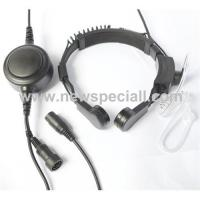 Quality Professional quality throat microphone with earphone for sale