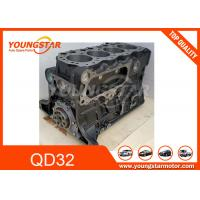 China Engine Short Block Assy and Long Block Assy For Nissan / Forklifter Parts QD32 with Piston and Crankshaft on sale