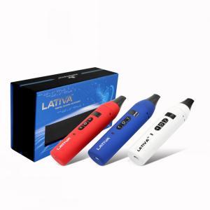 China Temperature Control Vaporizer Dry Herb Pen Lativa Ceramic Heating Atomizer on sale