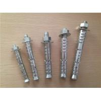 Quality Carbon Steel Self Locking Bolts / Self Locking Fasteners With Nut Tightening Torque for sale