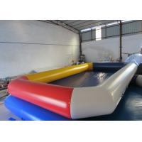 Quality Water Park Adult Inflatable Water Games Rectangle Big Blow Up inflatable Pools for water games for sale