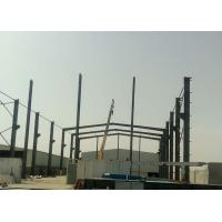 Customized Light Weight Prefabricated Workshop Buildings Durable Nice Appearance