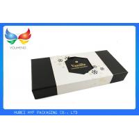 Quality Rectangle Disposable 2 Piece Gift Boxes With Lids , Custom Inner Padding for sale