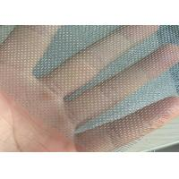 Quality 16 Mesh * 18 Mesh Fiberglass Window Screens Mosquito Protection Galvanized for sale
