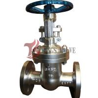 China Manual Operated Pn16 Bolted Bonnet Gate Valve Backseat Design RF / BW on sale