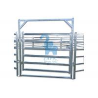 Buy Metal Pipe Corral Fencing Feedlot Corral Fence Panels‎ For Horse / Goat at wholesale prices