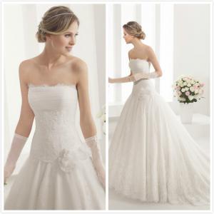 Quality Straps Lace W wedding dress #8B155 for sale