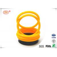 China FKM 70 Fuel Resistant O Rings High Fluorine Grades For Low Compression Set on sale