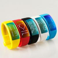 Quality shenzhen supplier silicone rubber bracelet bluetooth programmable bracelet heart rate for sale
