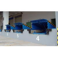Quality 8 Ton Fixed Loading / Unloading Hydraulic Dock Leveler with High Strength Manganese Steel for sale