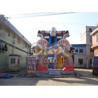 Quality Alien Robot Giant Inflatable Slide for sale