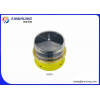 Buy cheap LED Solar Red Obstruction Light , 10cd Low Intensity Aircraft Warning Light IP68 from wholesalers