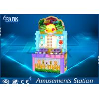 Quality Coin pusher electronic redemption Crazy Egg Cartoon game machine for kids for sale