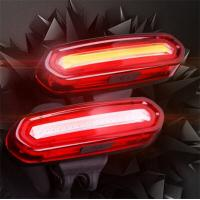 Quality Bike tail light USB Rechargeable Ultra-bright 6 Modes In One Rear LED Safety Strobe Flashing Fits on Road Bikes, Helmets for sale