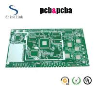 Quality Single sided prototype pcb board 1.6mm Board thicknss for reverse engineering for sale