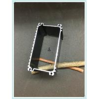 Quality Black Extruded Aluminum Enclosure 6063 T5 / T6 For Electric Vehicle Charging Pile for sale