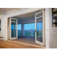 Buy cheap Safety Functional Aluminium Folding Doors With Standard Glass / Bifold Patio Doors from wholesalers